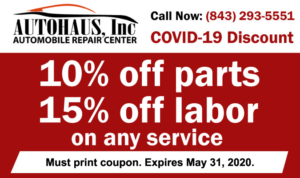 covid-19 auto repair discounts